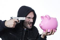 Stock Photo of robber