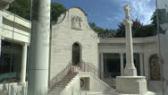 Stock Video Footage of The South African Commemorative Museum, Delville Wood, Somme, France.