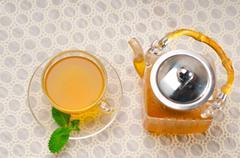 Stock Photo of fresh selection of tea