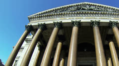 St. isaac's cathedral in St.-Petersburg Stock Footage