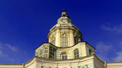 Kunstkamera. Museum of anthropology and Ethnography in St. Petersburg. Stock Footage