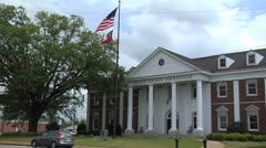 GRADY COUNTY COURTHOUSE,CAIRO GEORGIA Stock Footage