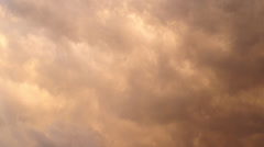 Rain clouds - stock footage