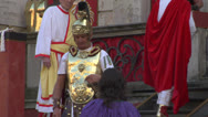 Christ flagellation 01 Stock Footage