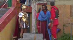 Christ flagellation 02 Stock Footage