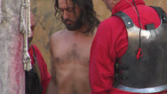 Christ flagellation 03 Stock Footage