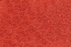 Close-up of red synthetic fibrous surface Stock Photos