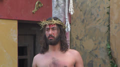 Christ flagellation 07 Stock Footage