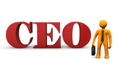 ceo - stock illustration