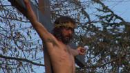 Cross christ 02 Stock Footage