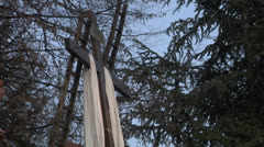 Cross inri 01 Stock Footage