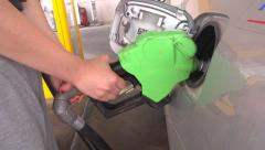 Fuel filling Stock Footage