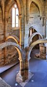 Monastery of santa clara velha Stock Photos