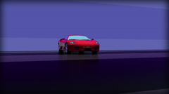 Cars F430 Stock Footage