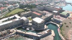 Italian Naval Academy in Livorno - stock footage