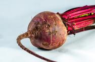 Beetroot over white background Stock Photos
