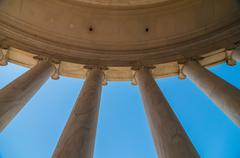 Stock Photo of neoclassical ionic architectural details