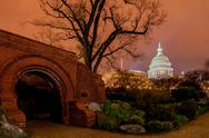 Us capitol building in spring- washington dc, united states Stock Photos