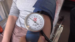 Blood pressure Stock Footage