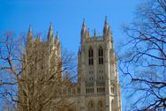 National cathedral washington dc - april 5, 2013 Stock Photos