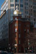 classic american architecture in washington dc - stock photo