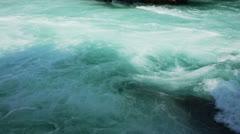 Manavgat waterfall near Side in Turkey Stock Footage