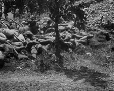 World War 1 - Soldier Trenches - stock footage