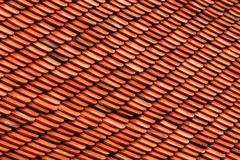 Old brown tile pattern, seamless background Stock Photos