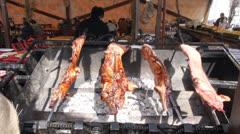 Roast Pork Stock Footage