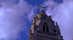 Stock Video Footage of St Augustine Church Zoom out