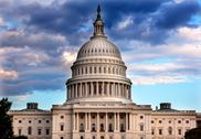 Stock Photo of us capitol dome houses of congress washington dc