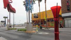 Big Drinks! Las Vegas Stock Footage
