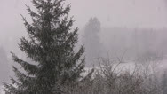Stock Video Footage of Winter in the Alps