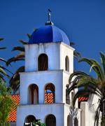 Immaculate conception church old san diego town california Stock Photos