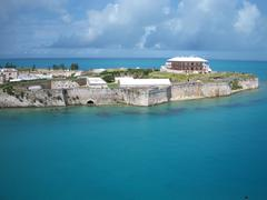 Royal Naval Dockyard Bermuda Stock Photos