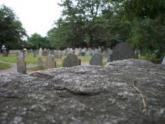 Salem Graveyard - stock photo