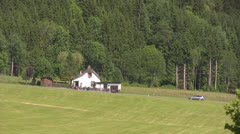 Small Farmhouse - stock footage