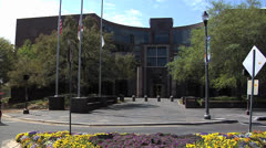 TALLAHASSEE CITY HALL -1 - stock footage