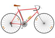 Stock Illustration of Fast bike.