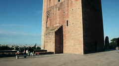 Hassan Tower, Rabat Stock Footage