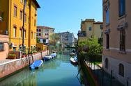 Stock Photo of venice river