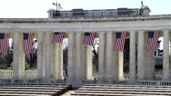 Stock Video Footage of Arlington National Cemetery Memorial Amphitheater