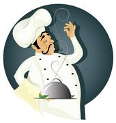 Chef illustration Stock Illustration