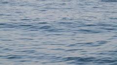 Calm sea waves Stock Footage