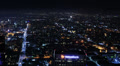 4K Night Cityscape Timelapse 122 Los Angeles Freeway Traffic Loop Footage
