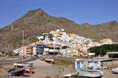 Village of San Andres at Tenerife - stock photo