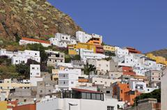 Village of San Andres at Tenerife Stock Photos