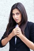 beautiful young women - stock photo