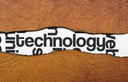 Technology concept Stock Illustration