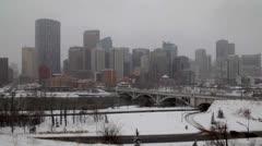 Calgary Winter - stock footage
